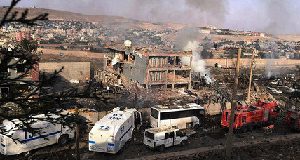 Turkey blames PKK for fatal truck bomb at police checkpoint